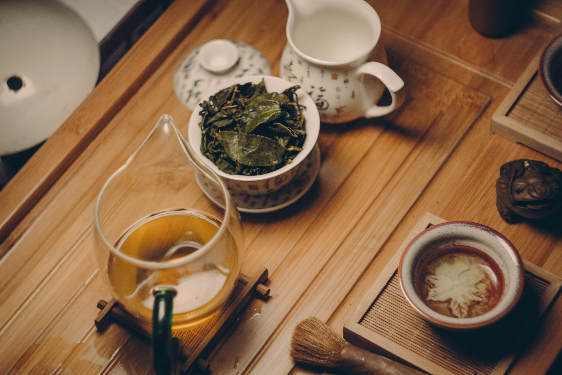 Make a tea with the leaves you used