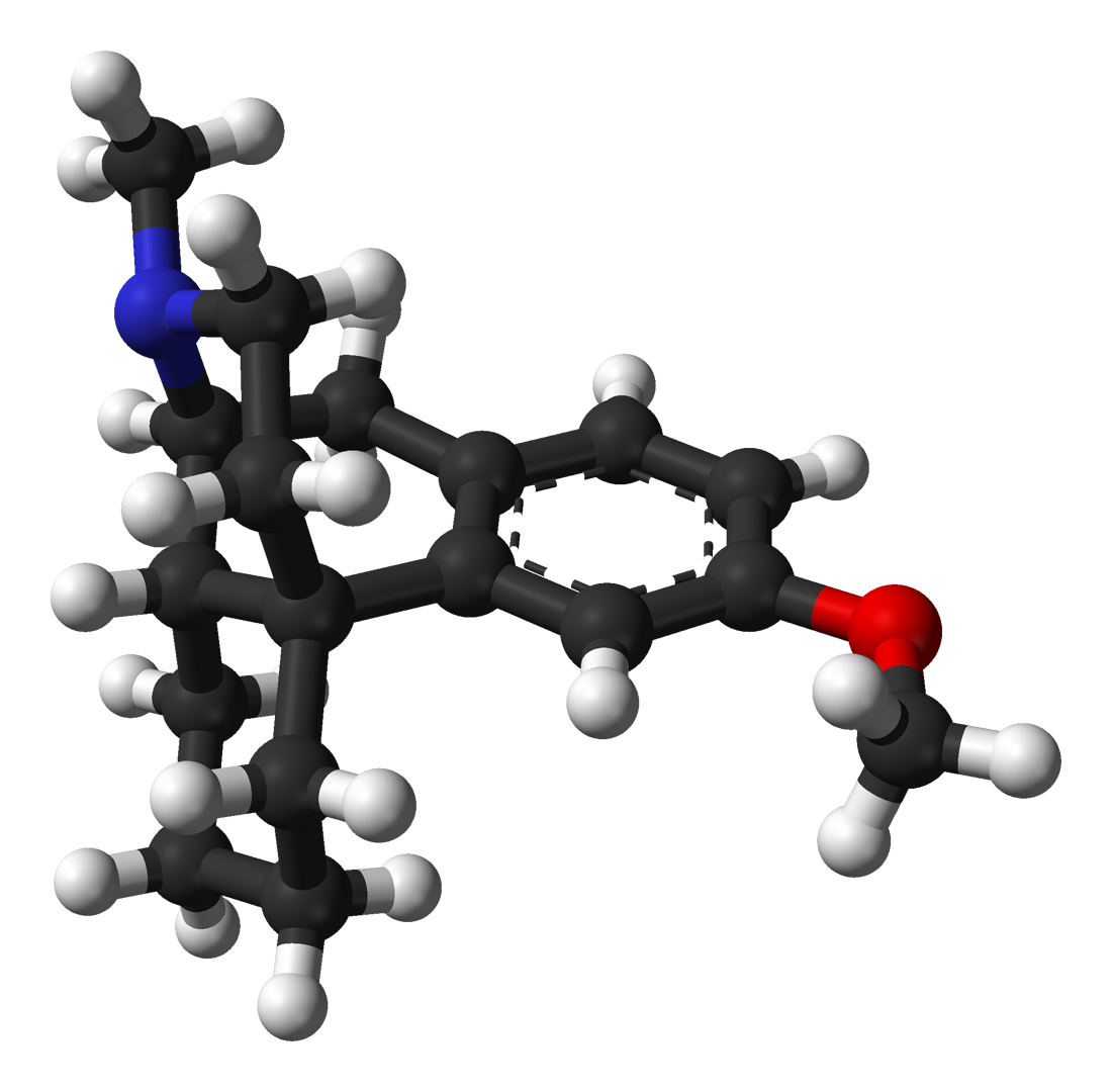dextromethorphan molecule